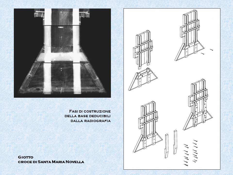 Fasi di costruzione della base deducibili dalla radiografia