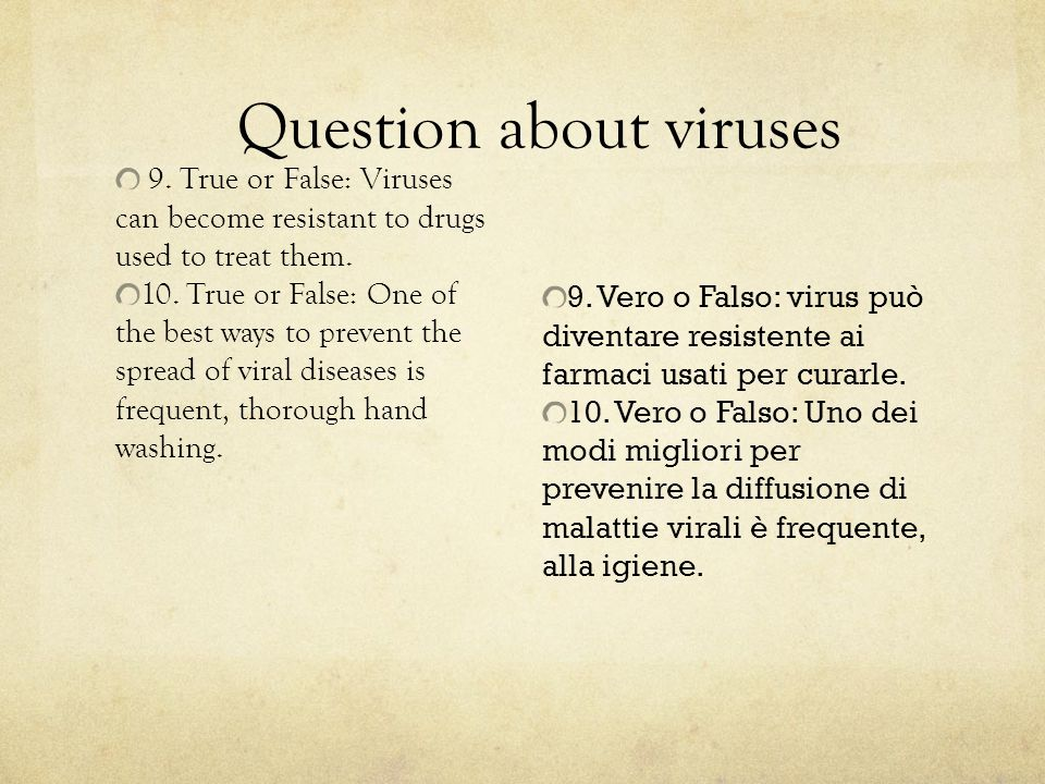 Question about viruses
