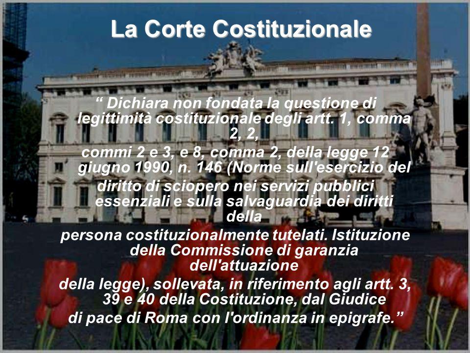 di pace di Roma con l ordinanza in epigrafe.