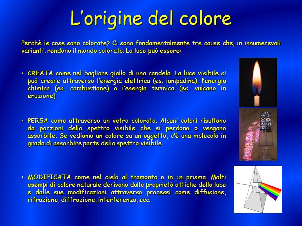 L'origine del colore