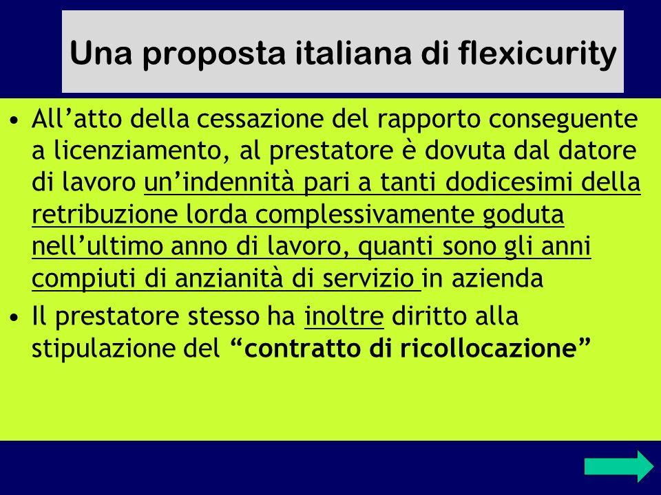 Una proposta italiana di flexicurity