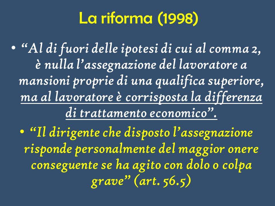 La riforma (1998)