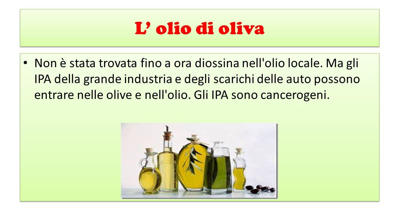 L' olio di oliva