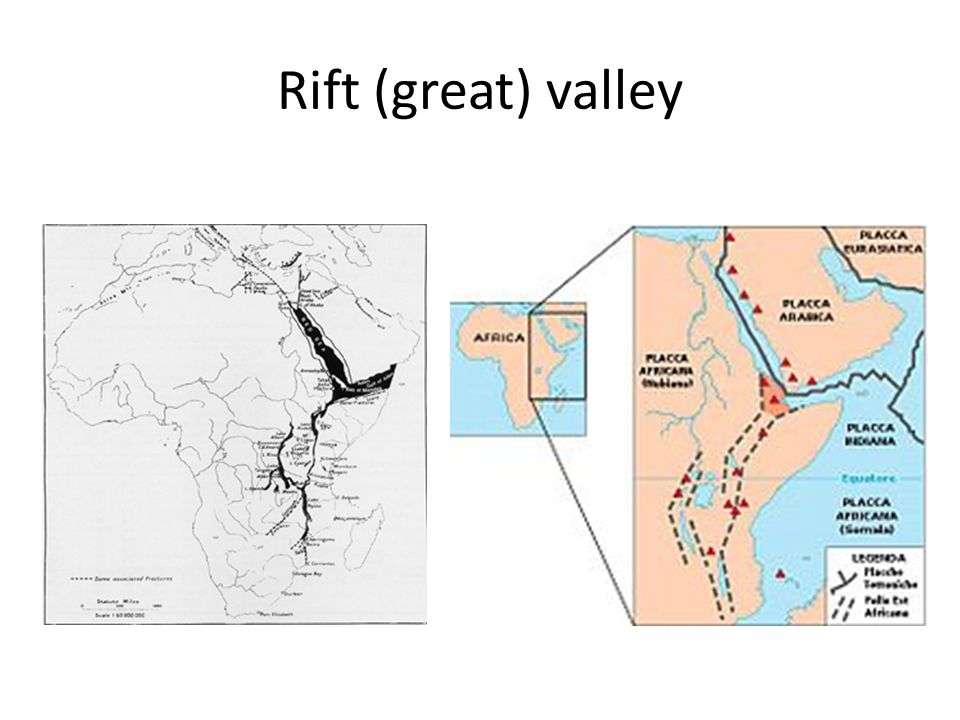 Rift (great) valley