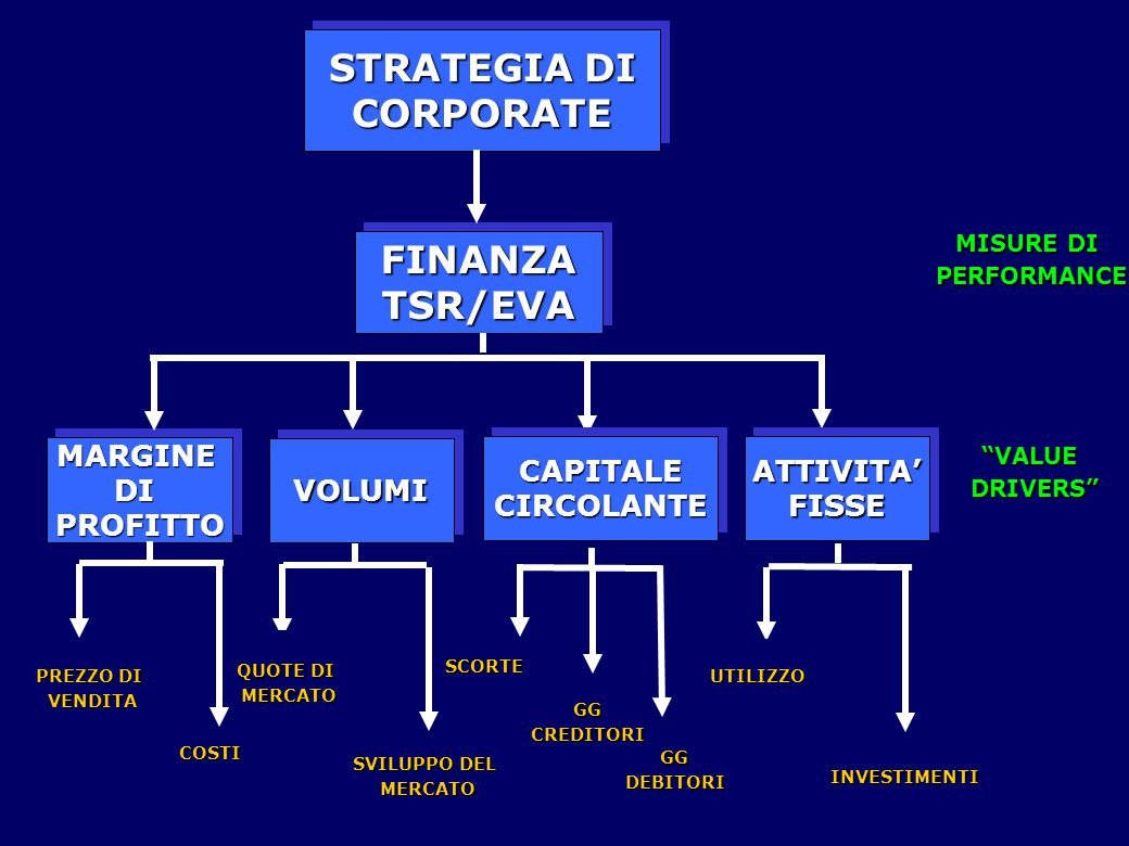 STRATEGIA DI CORPORATE FINANZA TSR/EVA