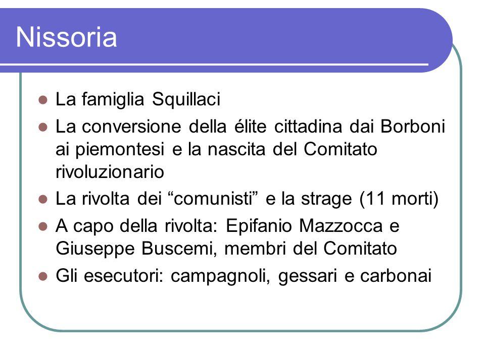 Nissoria La famiglia Squillaci