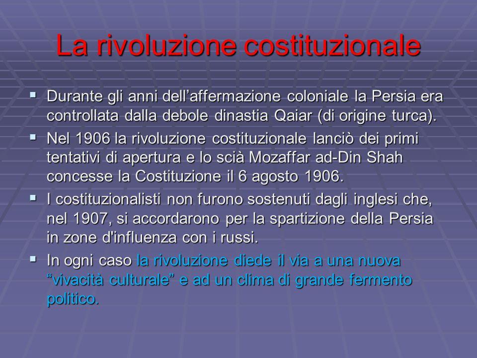 La rivoluzione costituzionale