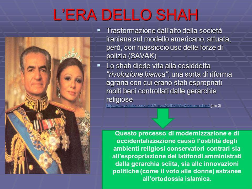 L'ERA DELLO SHAH