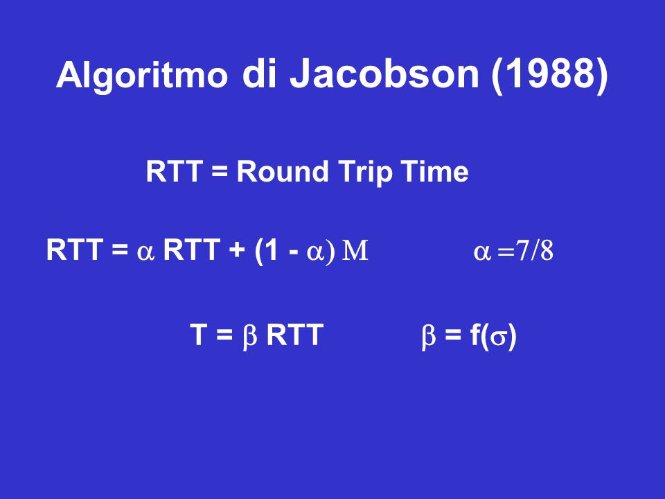 Algoritmo di Jacobson (1988)
