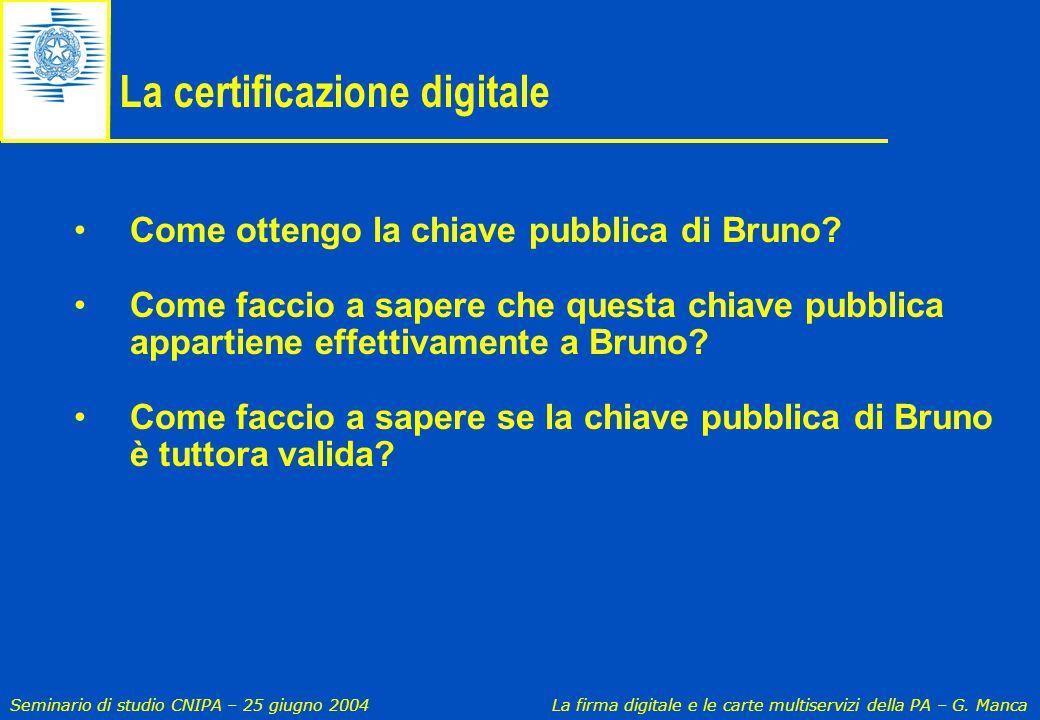 La certificazione digitale