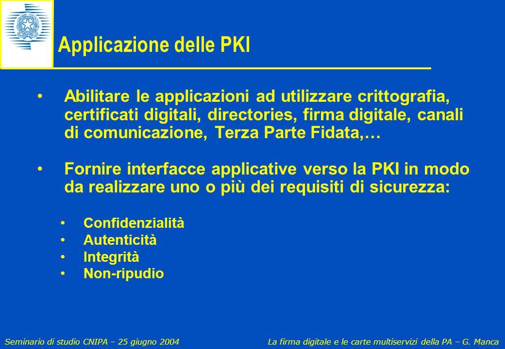 Applicazione delle PKI