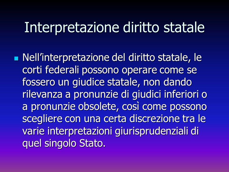 Interpretazione diritto statale