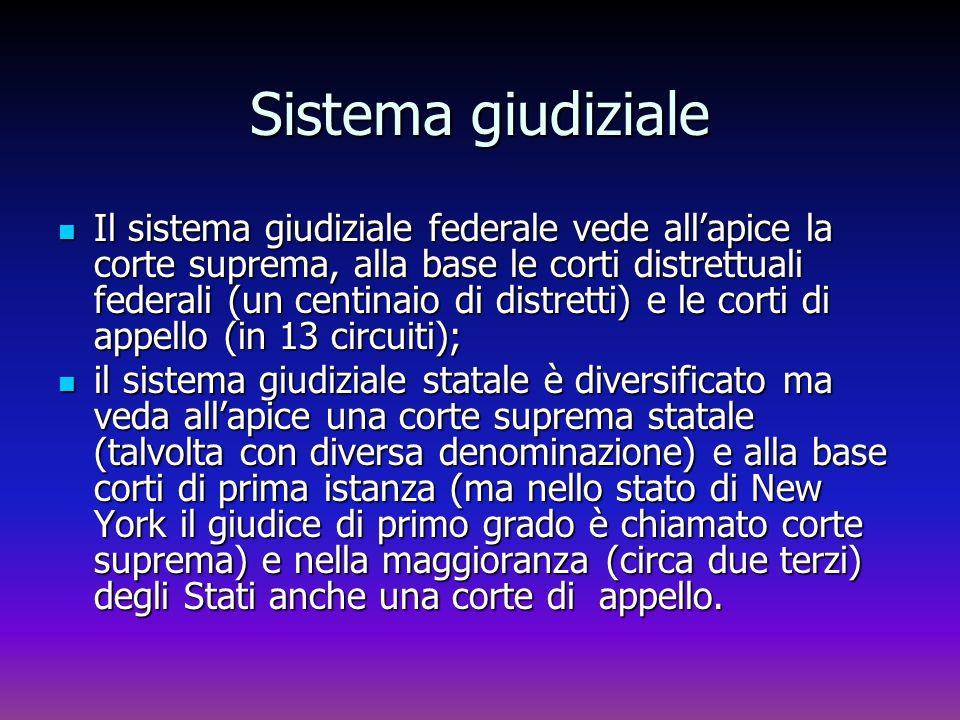 Sistema giudiziale
