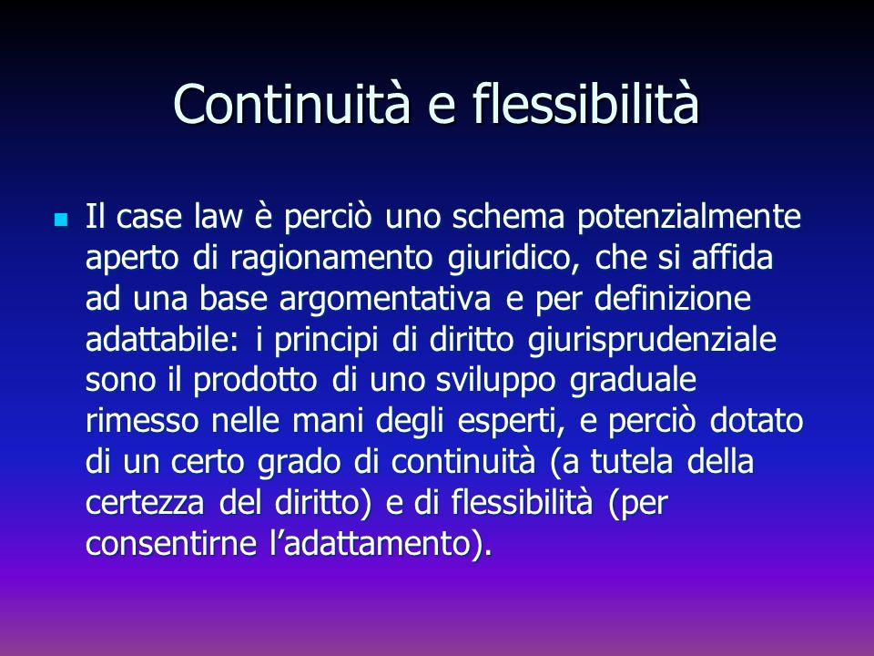 Continuità e flessibilità