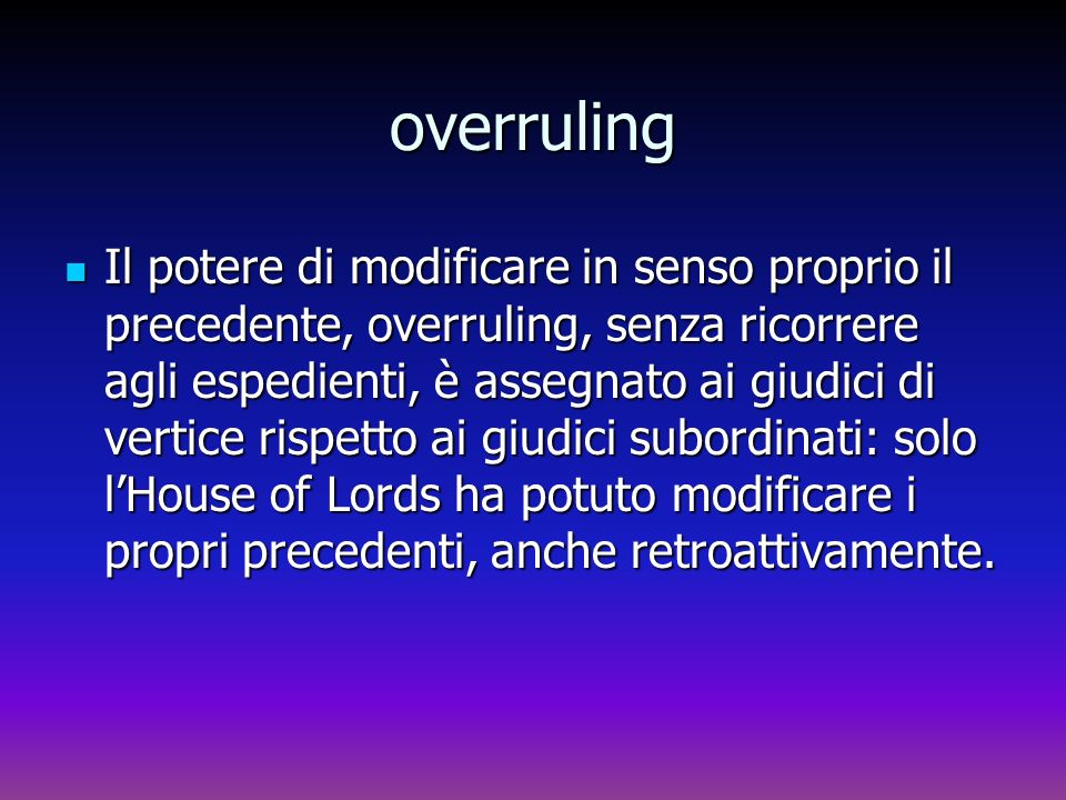 overruling