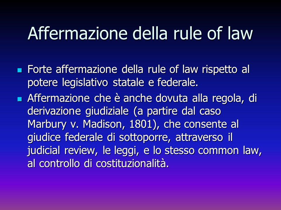 Affermazione della rule of law