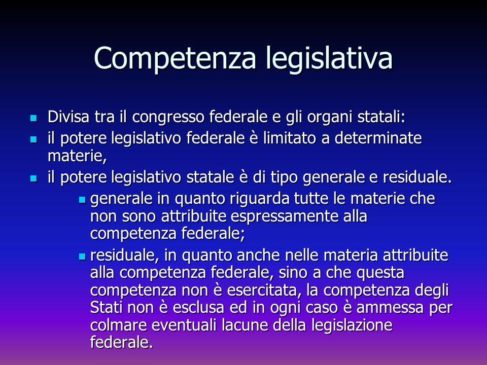 Competenza legislativa