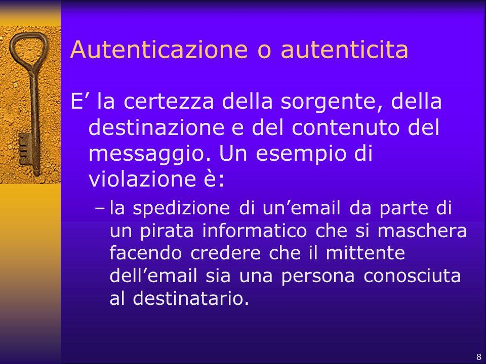 Autenticazione o autenticita