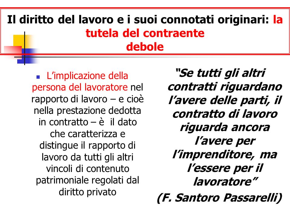 (F. Santoro Passarelli)