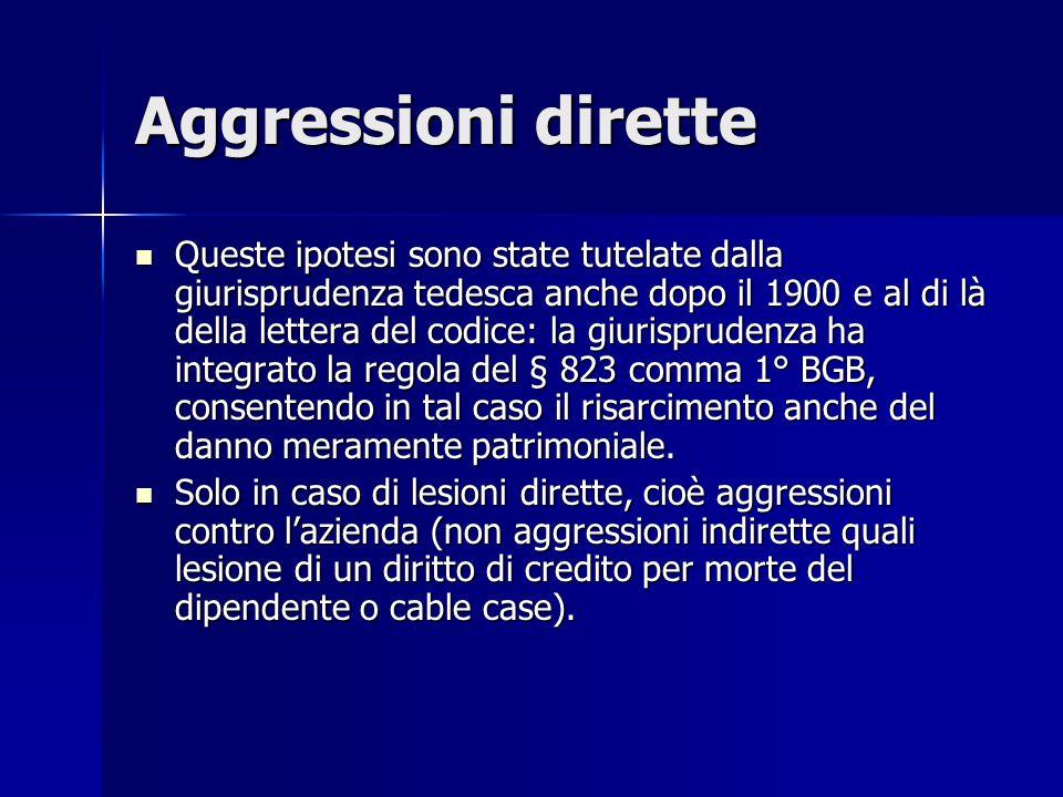 Aggressioni dirette