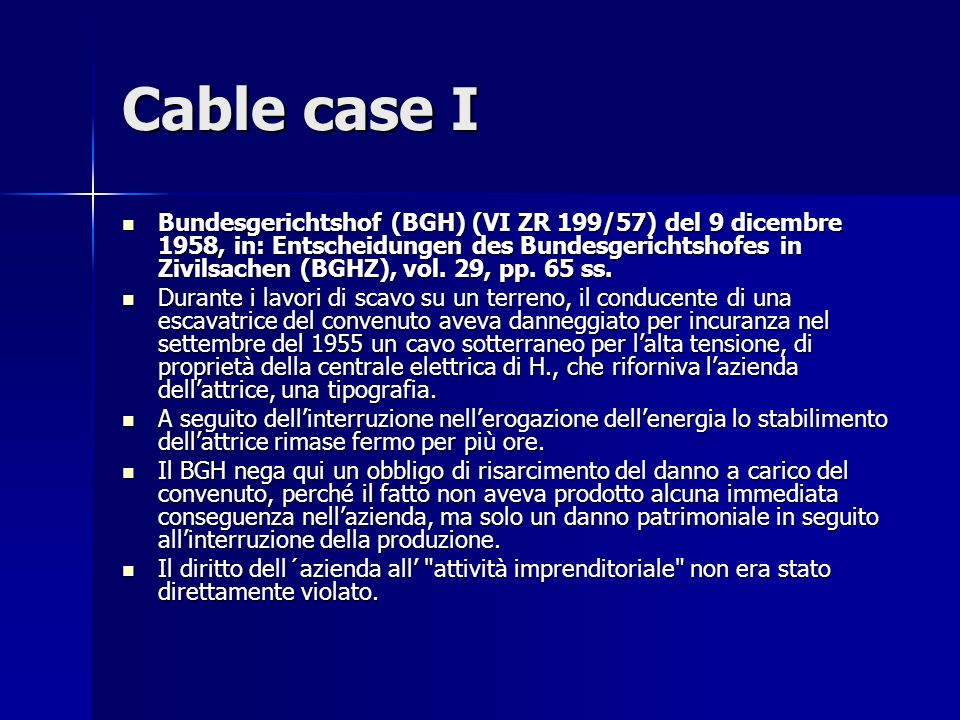 Cable case I