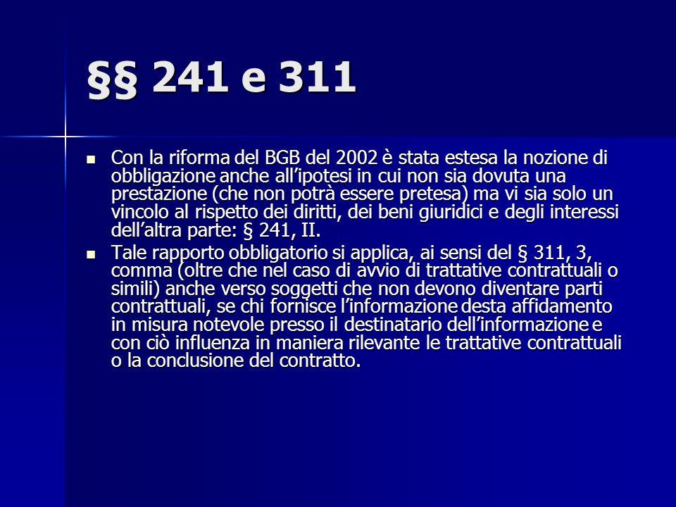 §§ 241 e 311