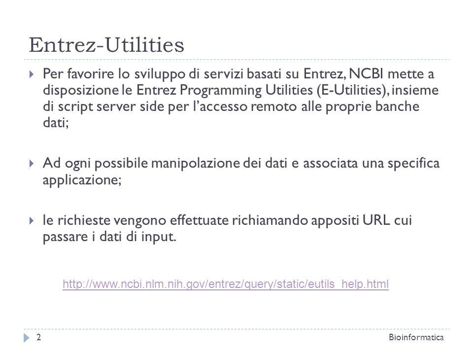 Entrez-Utilities