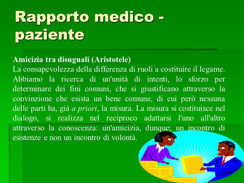 Rapporto medico - paziente