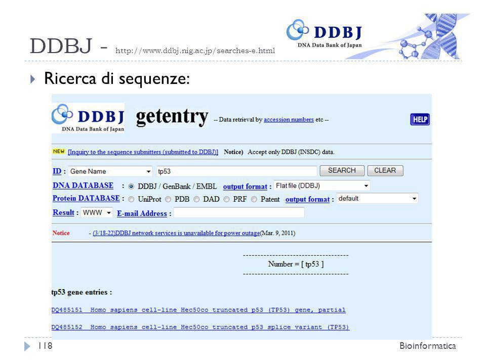 DDBJ - http://www.ddbj.nig.ac.jp/searches-e.html