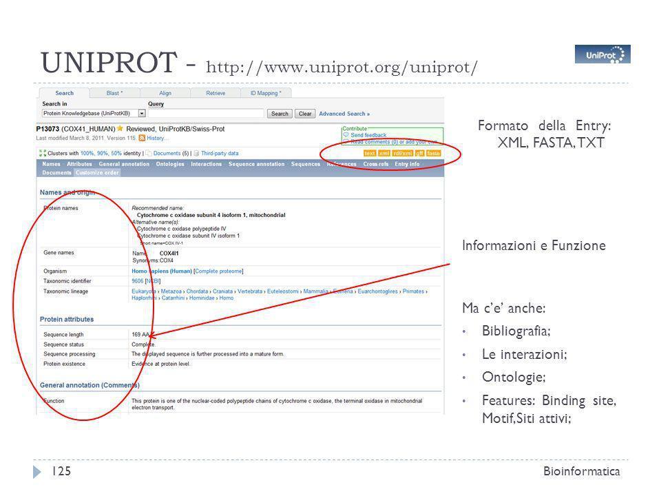 UNIPROT - http://www.uniprot.org/uniprot/