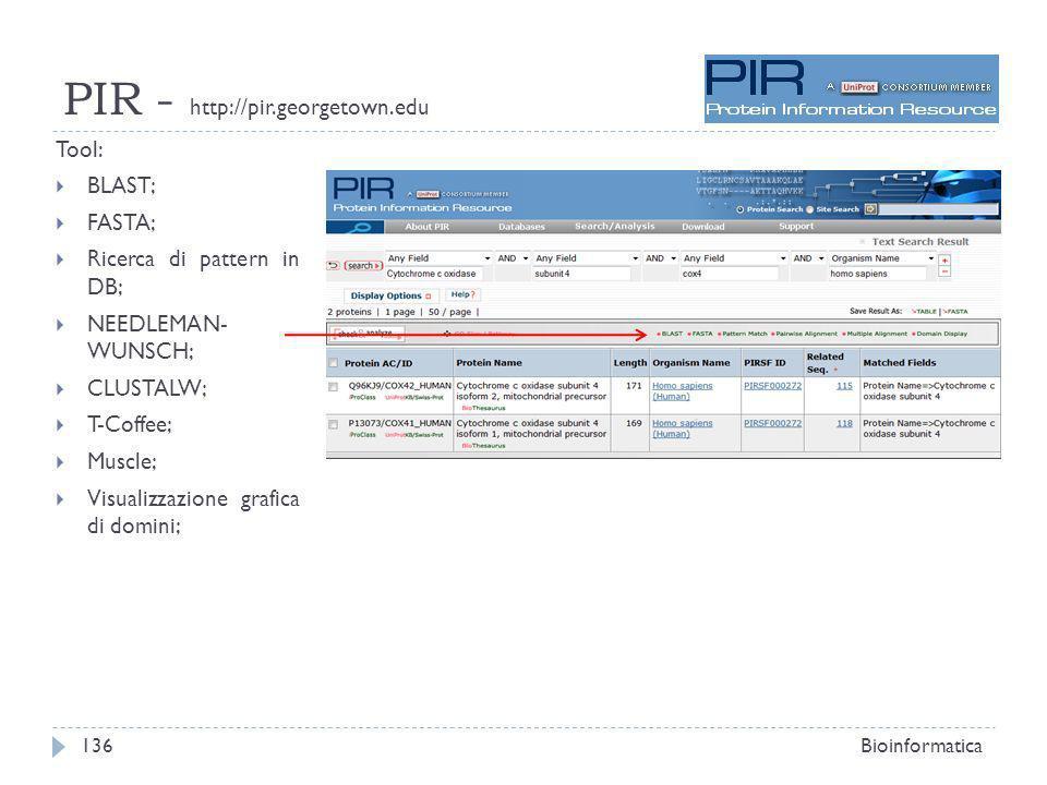 PIR - http://pir.georgetown.edu