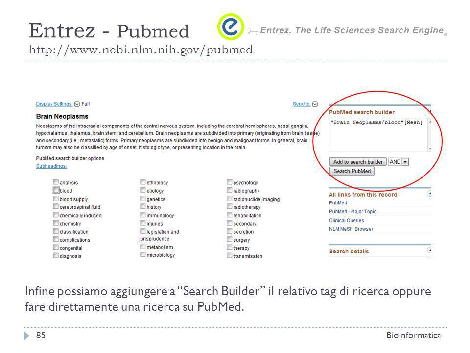 Entrez - Pubmed http://www.ncbi.nlm.nih.gov/pubmed