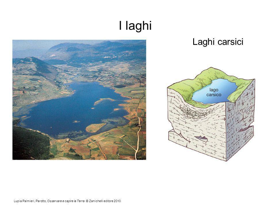 I laghi Laghi carsici.
