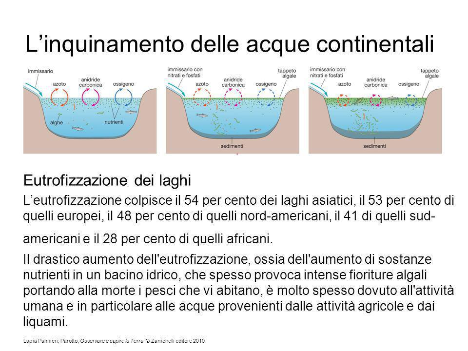 L'inquinamento delle acque continentali