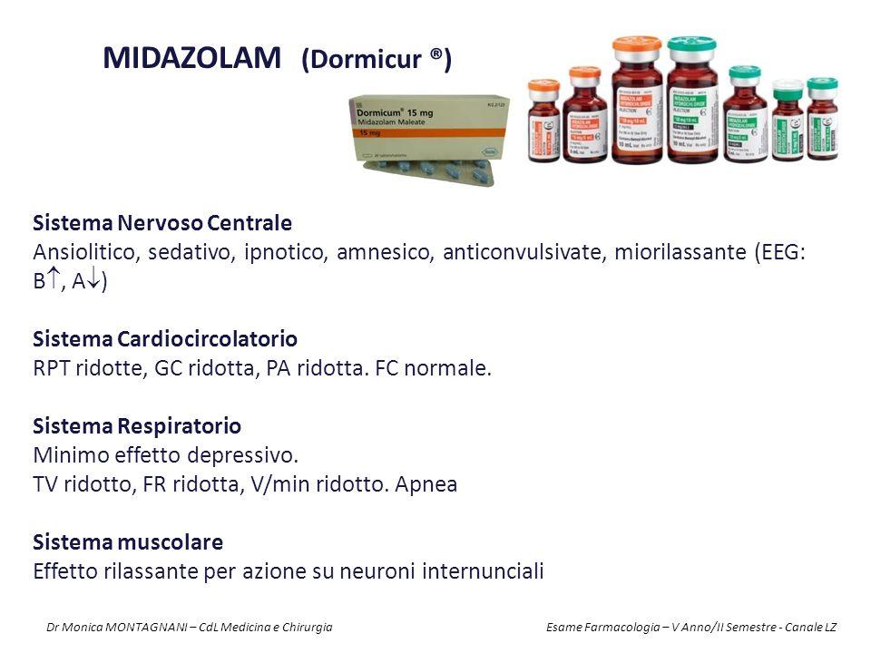 MIDAZOLAM (Dormicur ®)