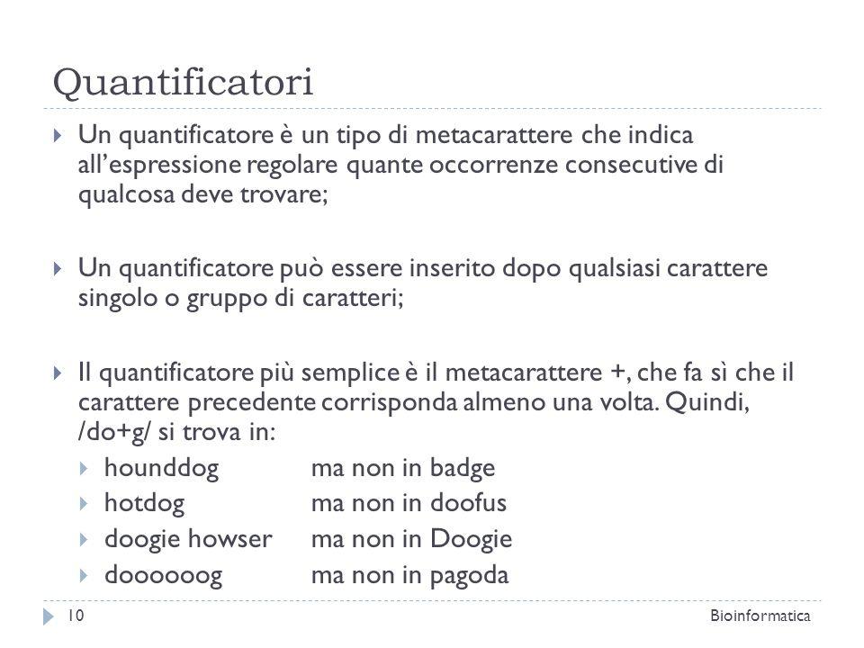 Quantificatori