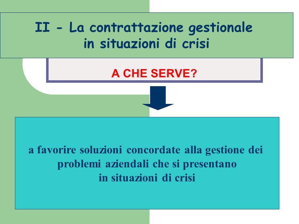 sacrifici in situazioni di crisi