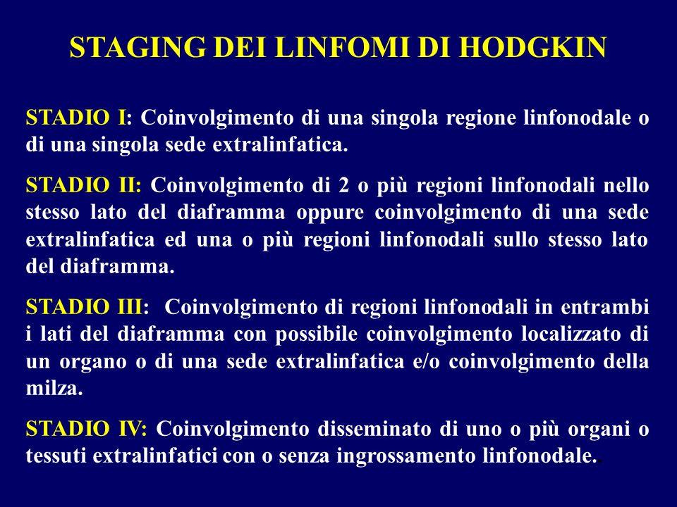 STAGING DEI LINFOMI DI HODGKIN