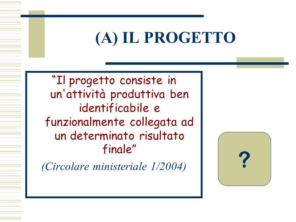 (Circolare ministeriale 1/2004)