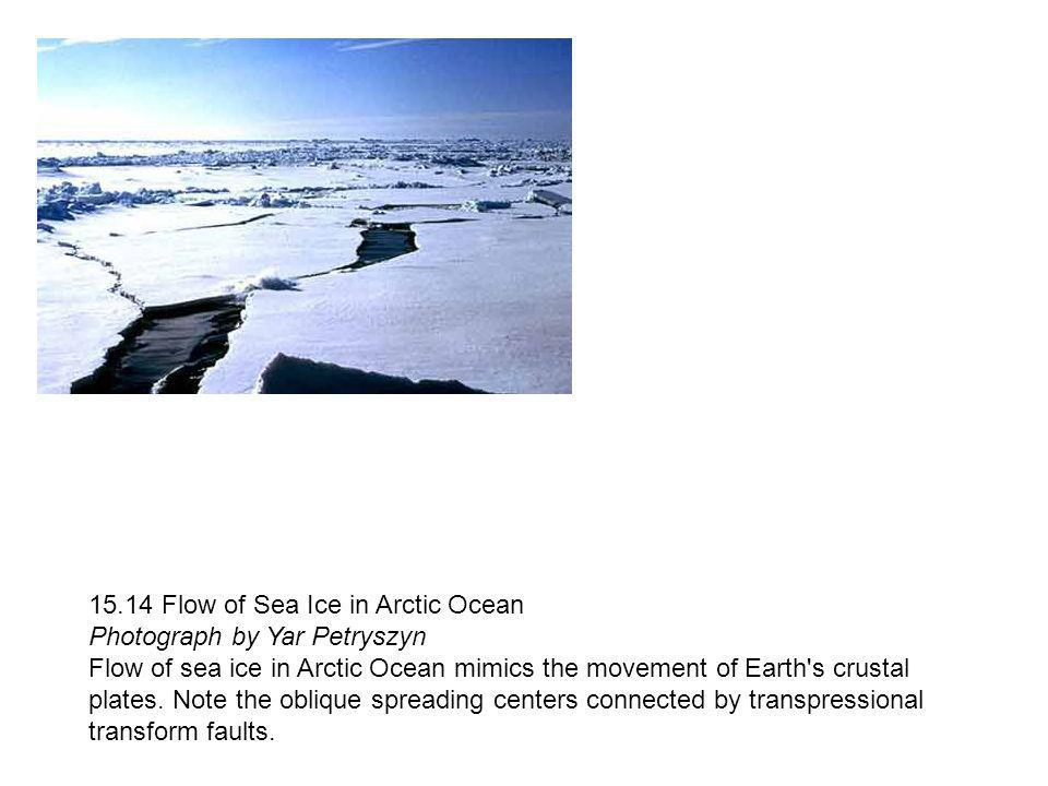 15.14 Flow of Sea Ice in Arctic Ocean Photograph by Yar Petryszyn