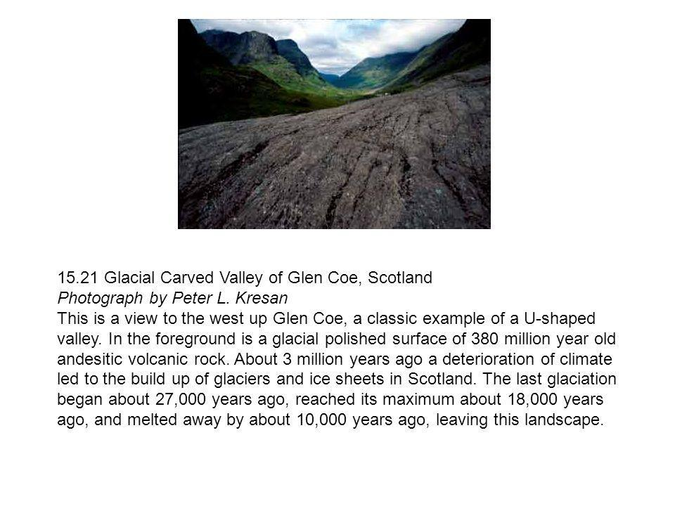 15.21 Glacial Carved Valley of Glen Coe, Scotland Photograph by Peter L. Kresan