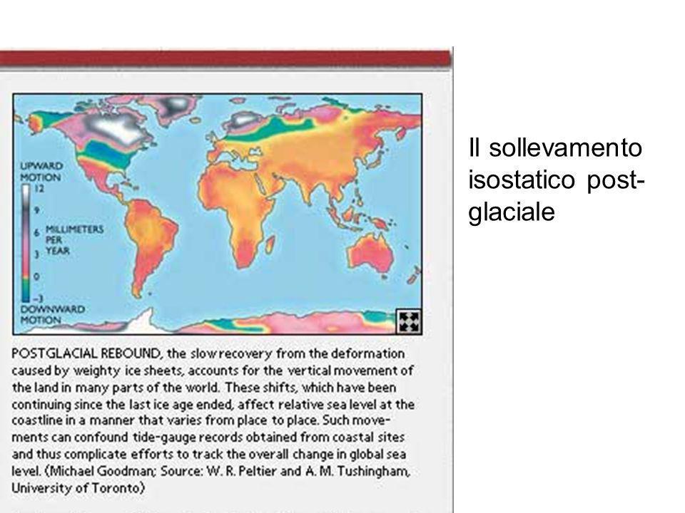 Il sollevamento isostatico post-glaciale