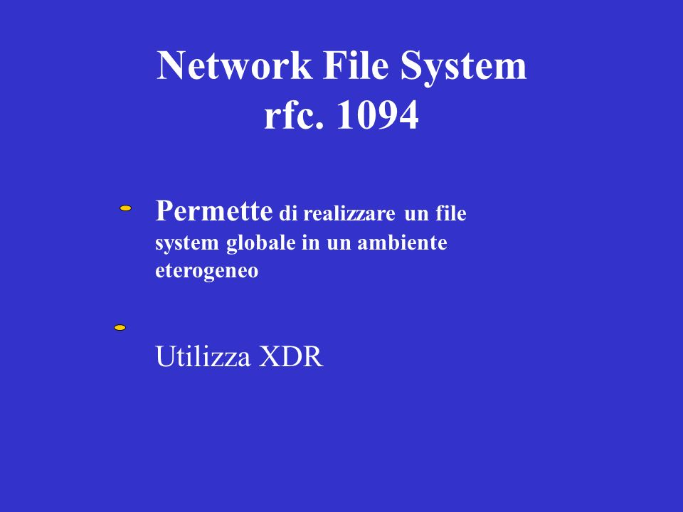 Network File System rfc. 1094