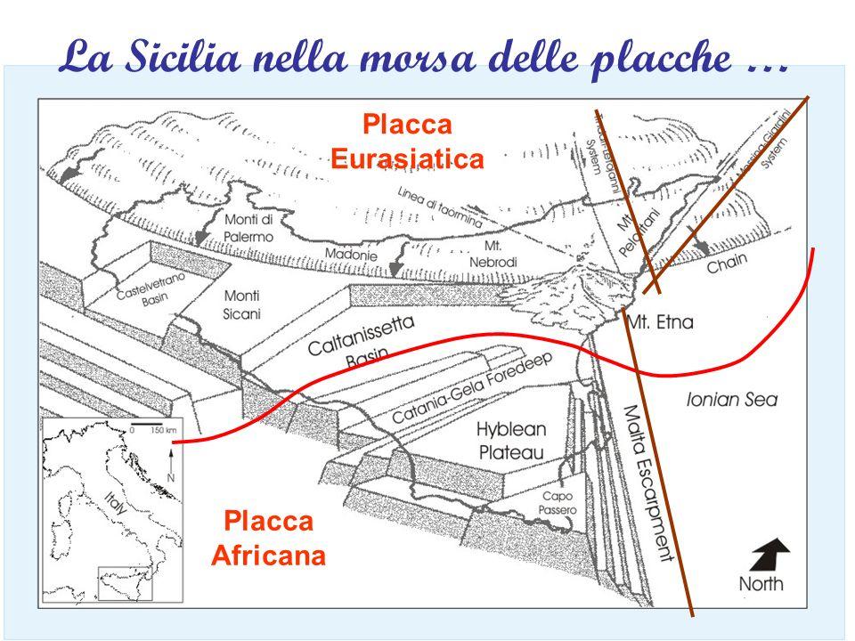 La Sicilia nella morsa delle placche …