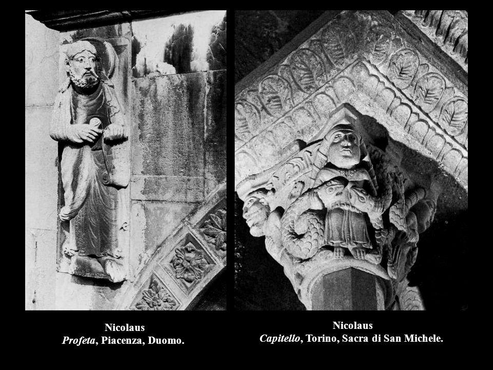 Nicolaus Profeta, Piacenza, Duomo.