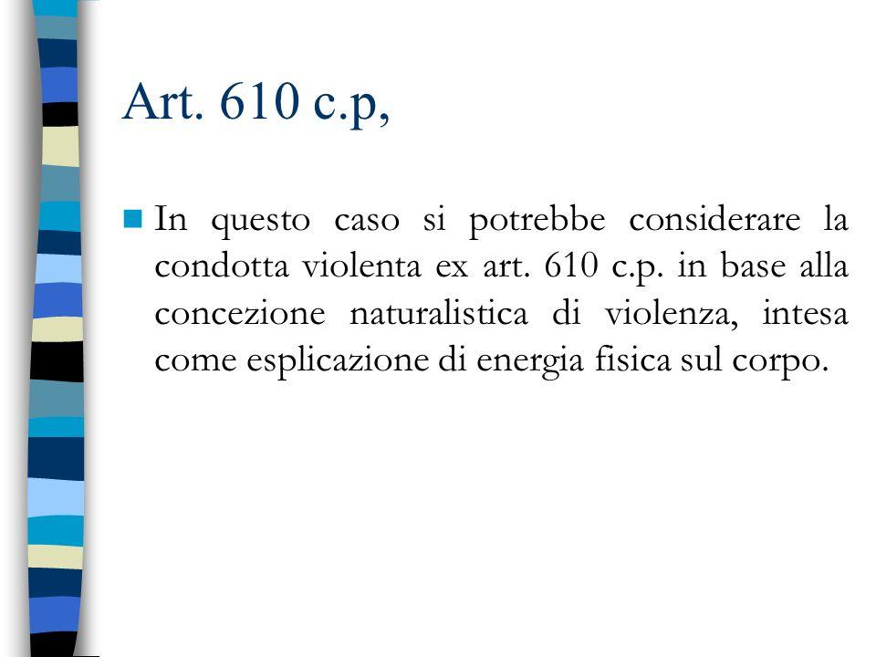 Art. 610 c.p,