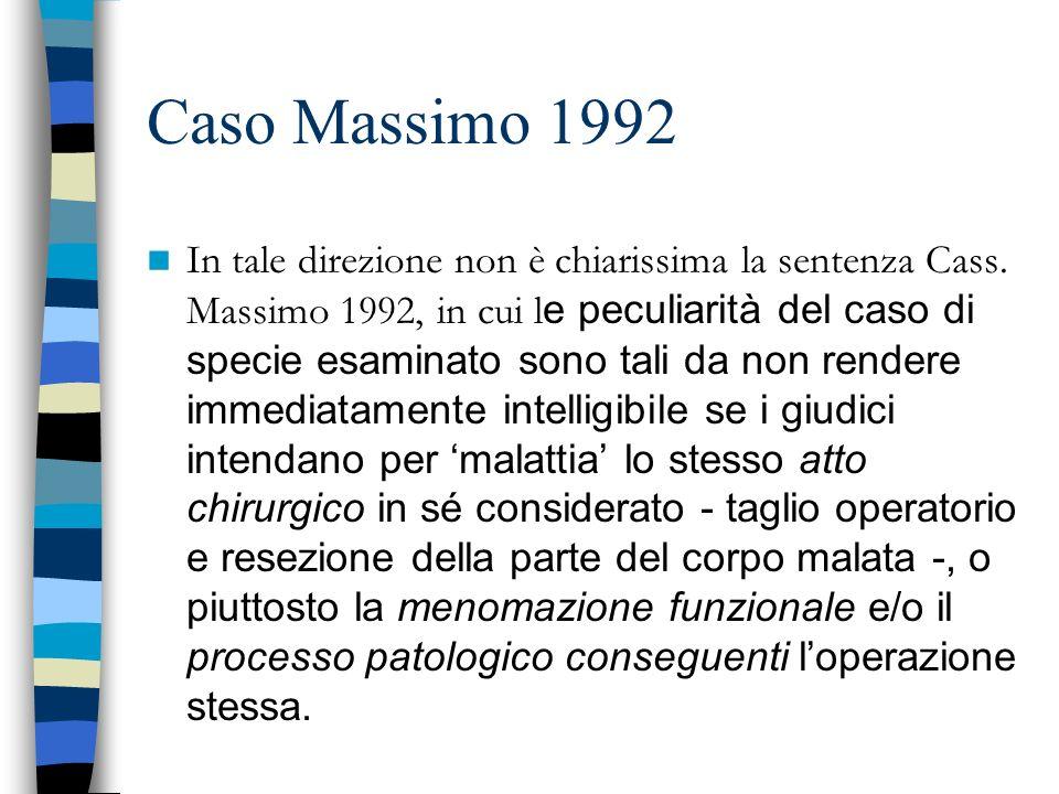 Caso Massimo 1992