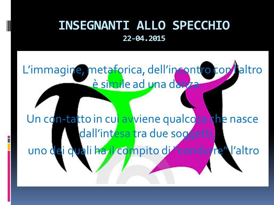 INSEGNANTI ALLO SPECCHIO 22-04.2015
