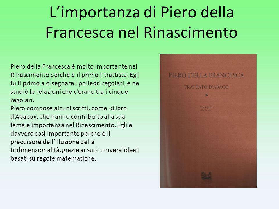 L'importanza di Piero della Francesca nel Rinascimento
