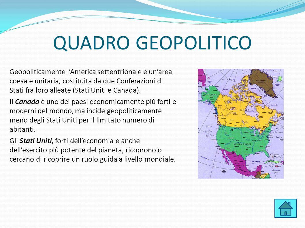 QUADRO GEOPOLITICO